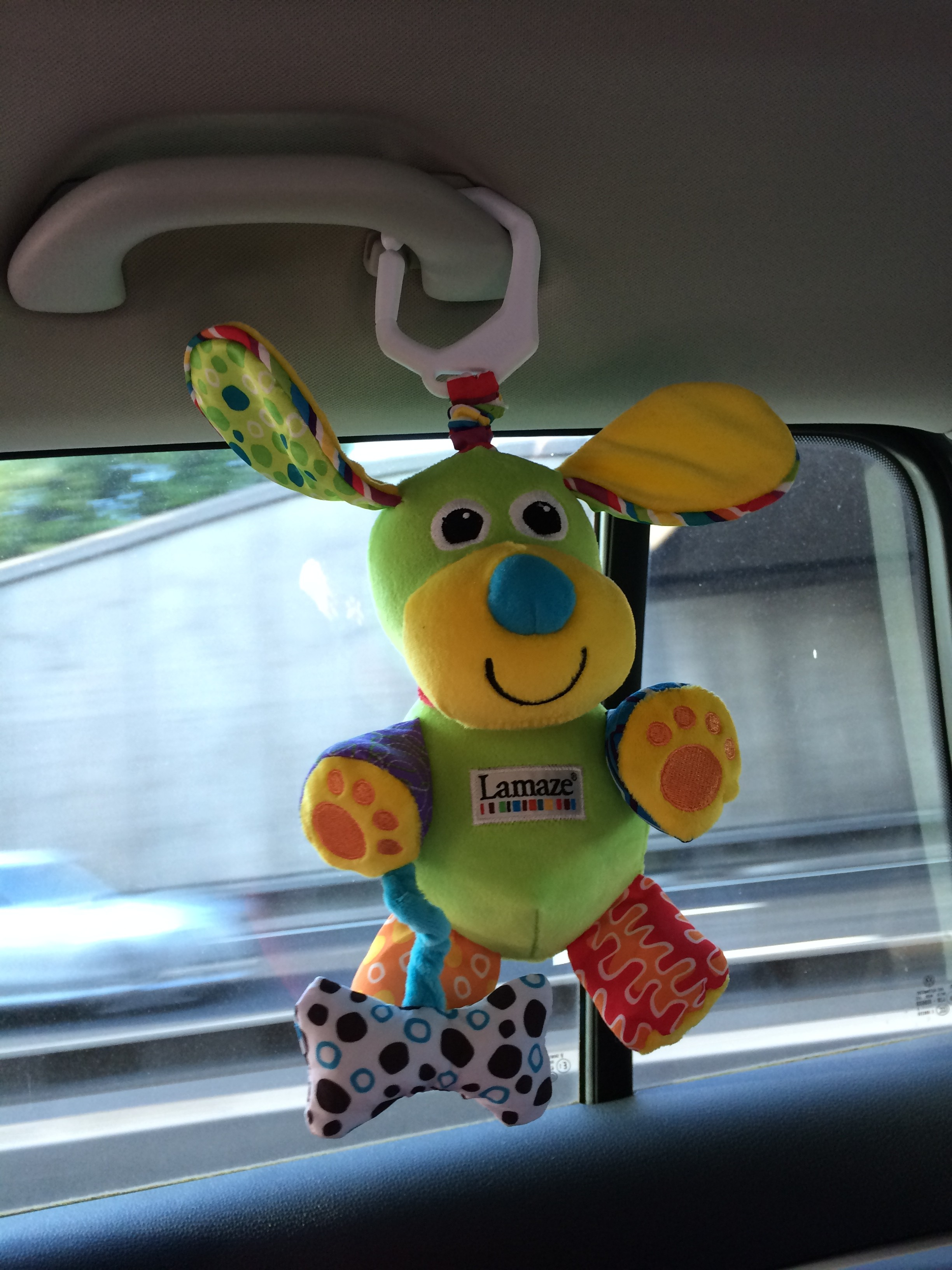 Hanging Toys In The Car